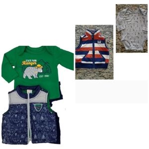 Healthtex baby boy 2 -piece and Carter's baby boy
